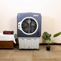 70L Air Cooler - Portable 3Speed Swing Function Honey Coomb Cooling Technology with Castor Wheels | 20 Feet Air Throw with Low Noise | Air Conditioner for Room, Office, Kitchen and More