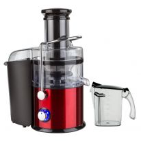 Geepas Centrifugal Juicer | 800W Juicer Machine | Juice Extractor with 75MM Wide Mouth for Whole Fruit and Vegetable | 2 Speed, Stainless Steel Body, Non-Slip Feet | 2 Year Warranty